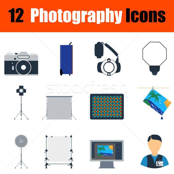 Stok fotoğraf: Fotoğrafçılık · dizayn · ui · renkler · kâğıt