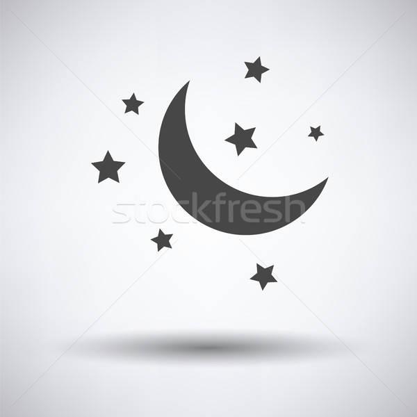 Night icon Stock photo © angelp