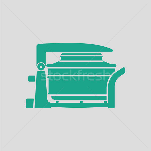 Electric convection oven icon Stock photo © angelp