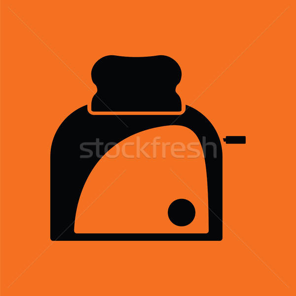 Kitchen toaster icon Stock photo © angelp