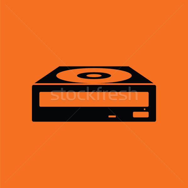 CD-ROM icon Stock photo © angelp