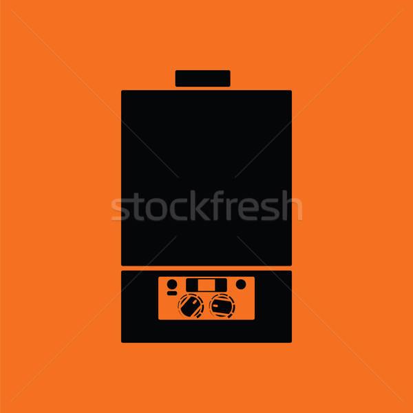 Gas boiler icon Stock photo © angelp