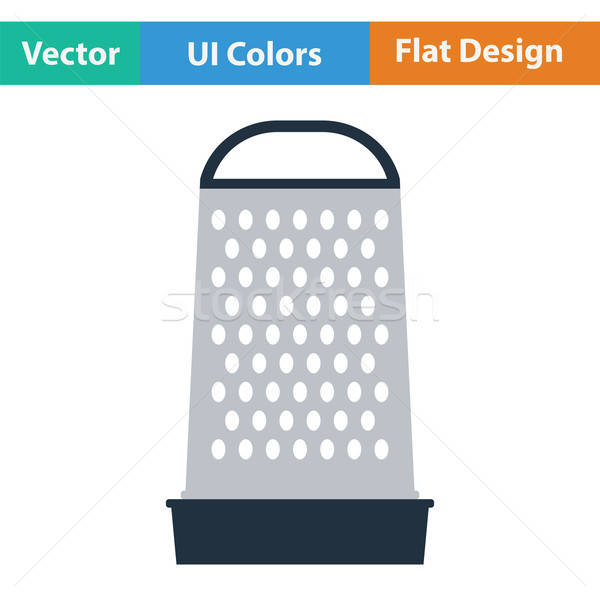 Kitchen grater icon Stock photo © angelp