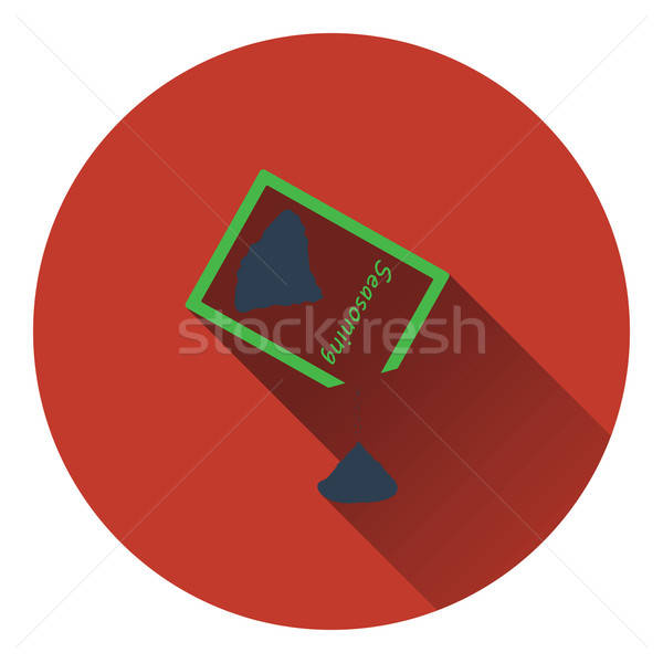 Seasoning package icon Stock photo © angelp