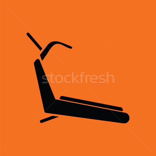Treadmill icon Stock photo © angelp