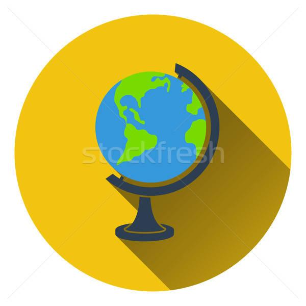 Projeto ícone globo ui cores educação Foto stock © angelp