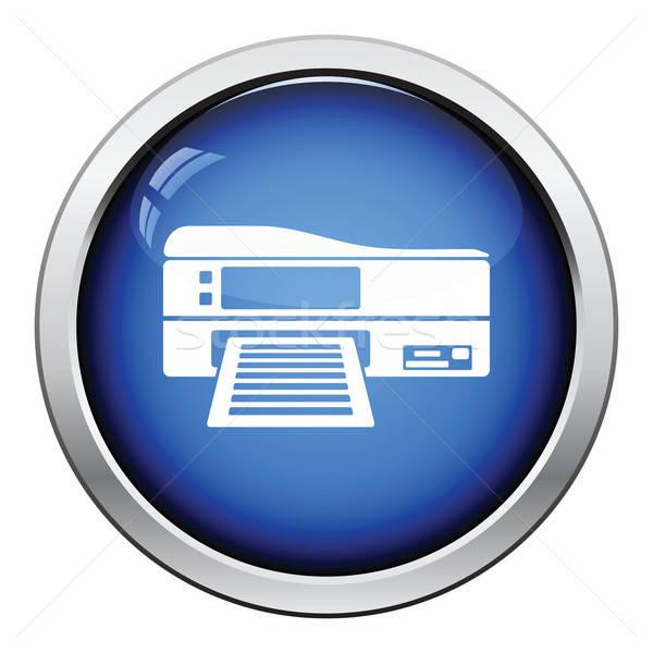 Printer icon Stock photo © angelp