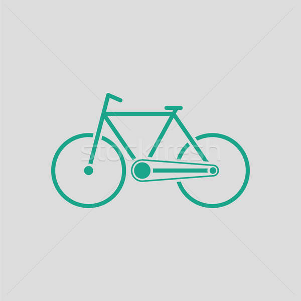 Ecological bike icon Stock photo © angelp
