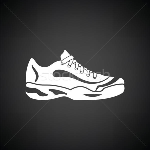 Tennis sneaker icon Stock photo © angelp