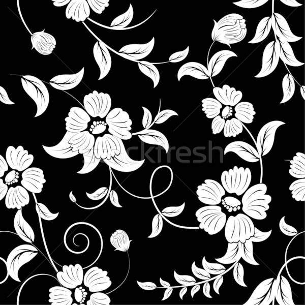 seamless floral background Stock photo © angelp