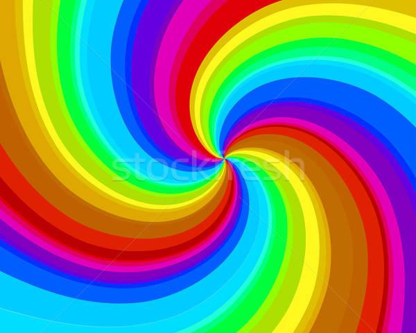 spiral background Stock photo © angelp