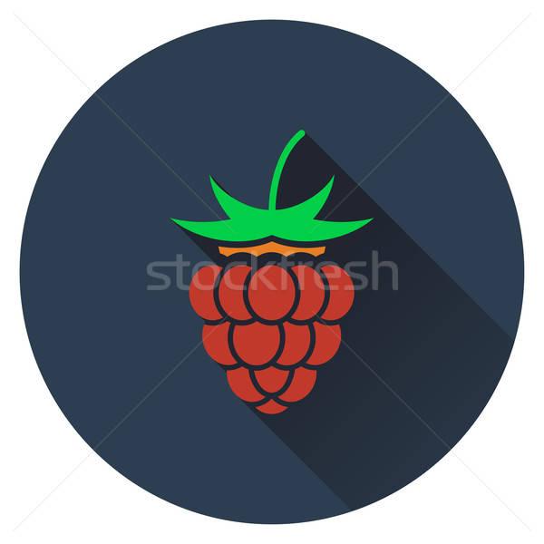 Raspberry icon Stock photo © angelp