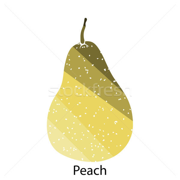 Pear icon Stock photo © angelp