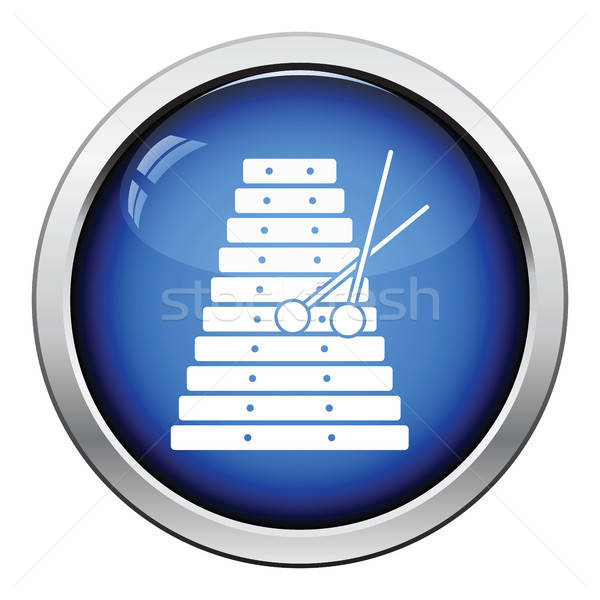 木琴 アイコン ボタン デザイン コンサート ストックフォト © angelp