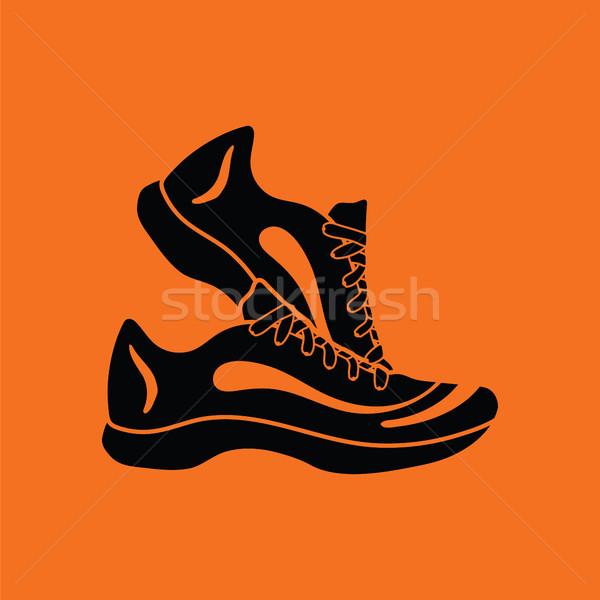 Fitness sneakers icon Stock photo © angelp