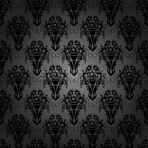 Damask Seamless Pattern Stock photo © angelp
