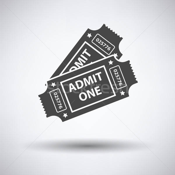 Cinema tickets icon Stock photo © angelp