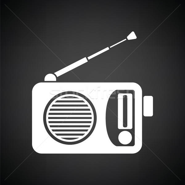 Radio icon Stock photo © angelp