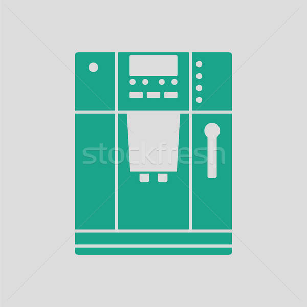 Stock photo: Kitchen coffee machine icon