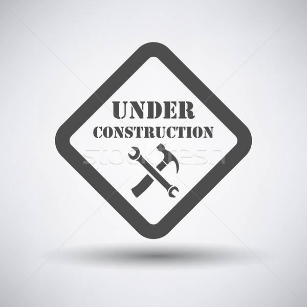 Under construction icon  Stock photo © angelp