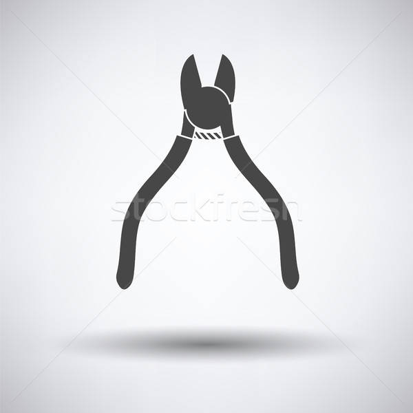 Side cutters icon Stock photo © angelp