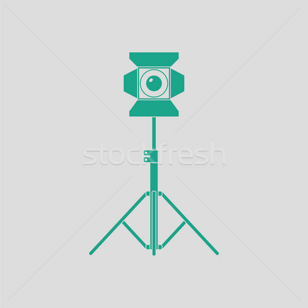 Stock photo: Stage projector icon