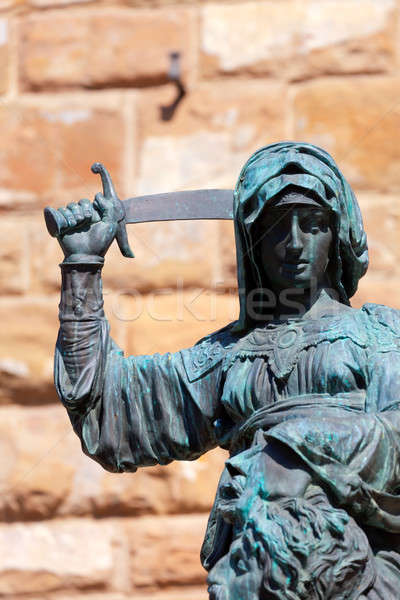 Statue of Judith and Holofernes  Stock photo © angelp