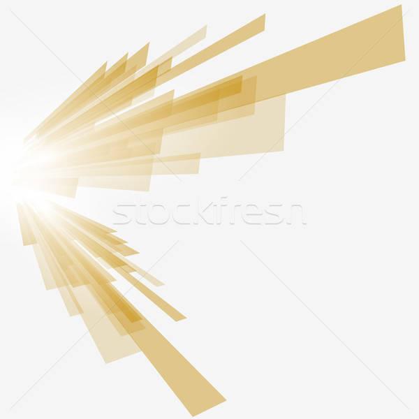 ブラウン 実例 透明 eps10 コンピュータ ストックフォト © angelp