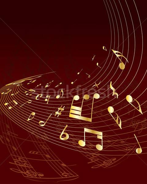 отмечает сотрудников вектора музыки отмечает дизайна фон Сток-фото © angelp