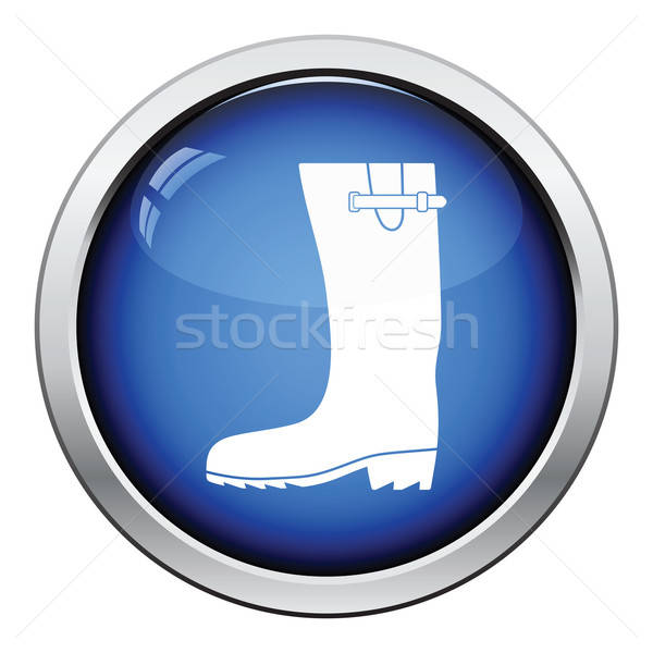 Rubber boot icon Stock photo © angelp
