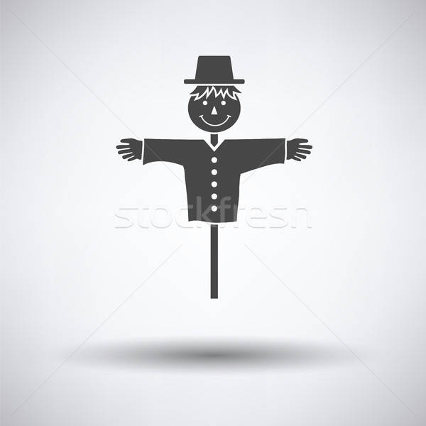 Scarecrow icon Stock photo © angelp