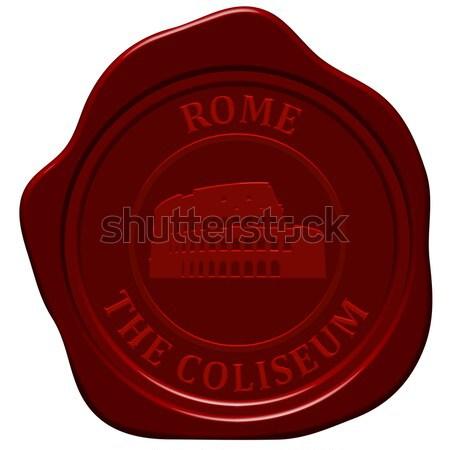 coliseum sealing wax Stock photo © angelp