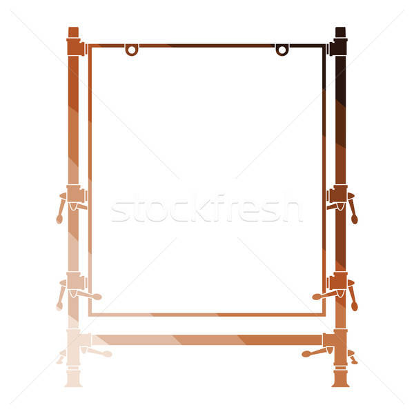 Icon of table for object photography Stock photo © angelp