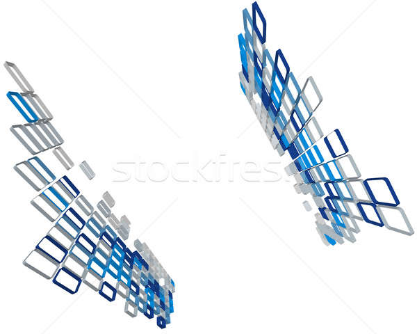 Abstract 3D business web design ontwerp schoonheid Stockfoto © angelp