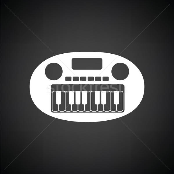 Synthesizer toy ico Stock photo © angelp