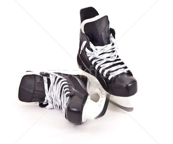 pair of hockey skates Stock photo © angelp