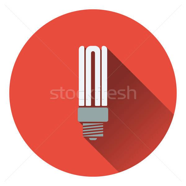 Energy saving light bulb icon Stock photo © angelp