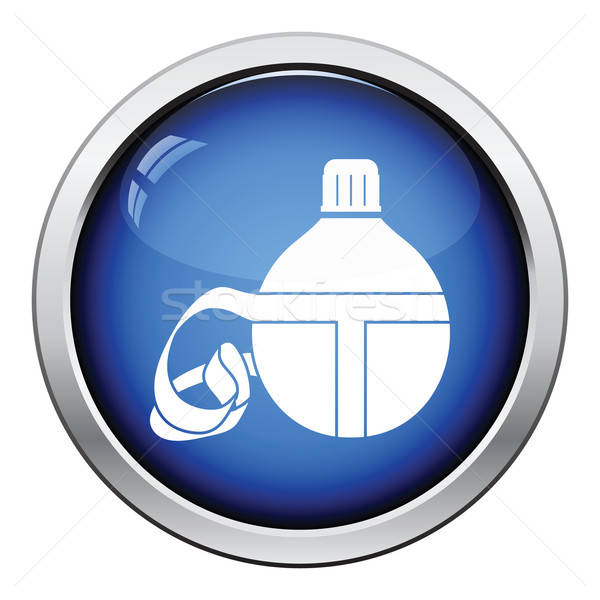 Touristic flask  icon Stock photo © angelp