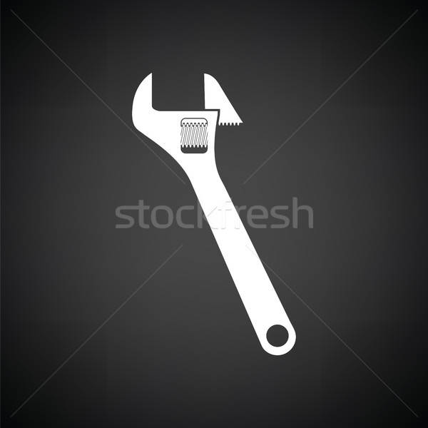 Adjustable wrench  icon Stock photo © angelp