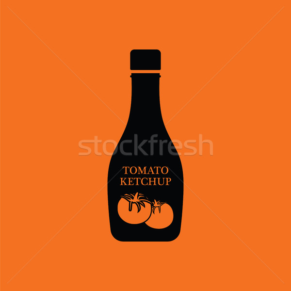 Tomato ketchup icon Stock photo © angelp