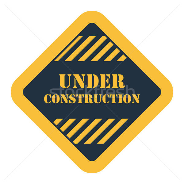 Icon of Under construction Stock photo © angelp