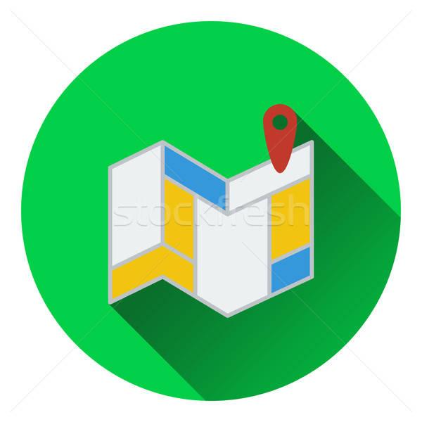 Navigation map icon Stock photo © angelp