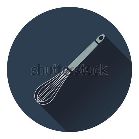 Stock photo: Kitchen corolla icon