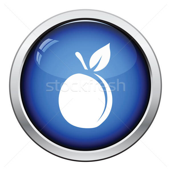 Icon of Peach Stock photo © angelp