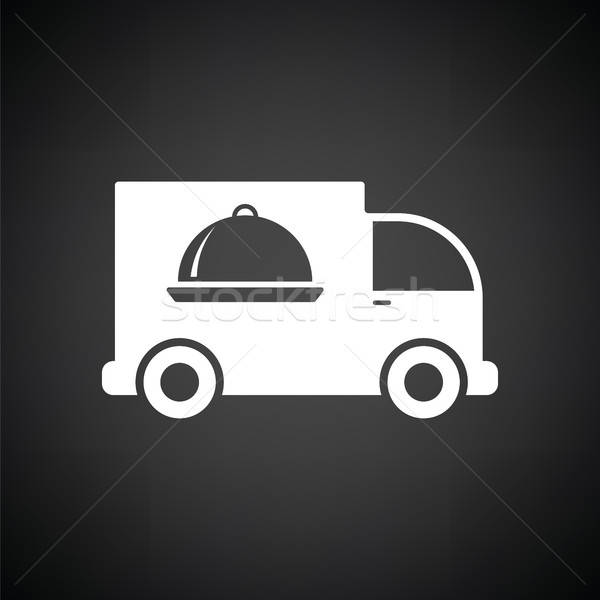 Delivering car icon Stock photo © angelp