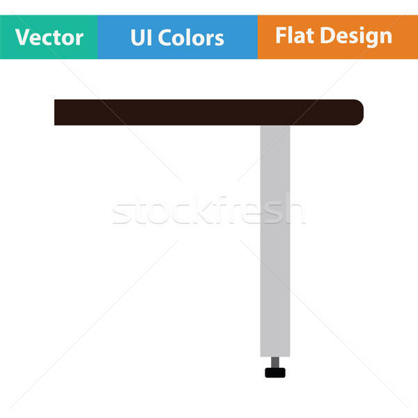 Briefing table console icon Stock photo © angelp