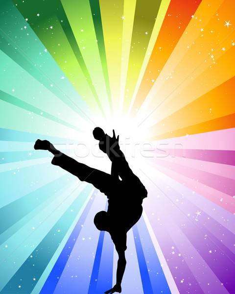 Brake dancer Stock photo © angelp