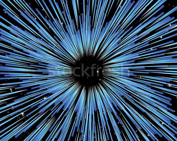 Universo vector diseno cielo arte campo Foto stock © angelp