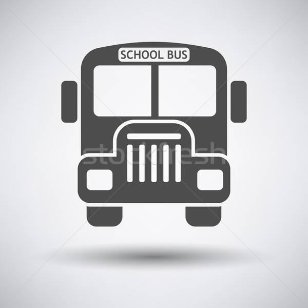 School bus icon Stock photo © angelp