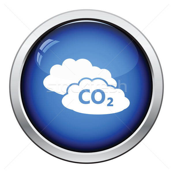 CO2 cloud icon Stock photo © angelp